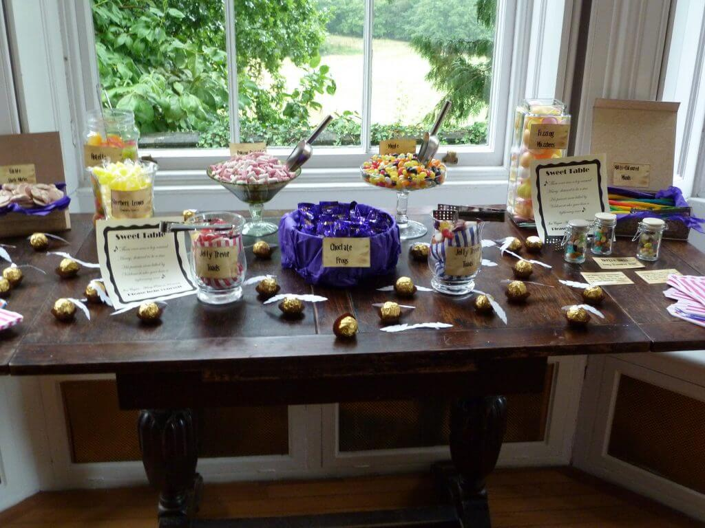 Awesome Diy Harry Potter Sweets Candy Table Savvy In Somerset Download Free Architecture Designs Embacsunscenecom
