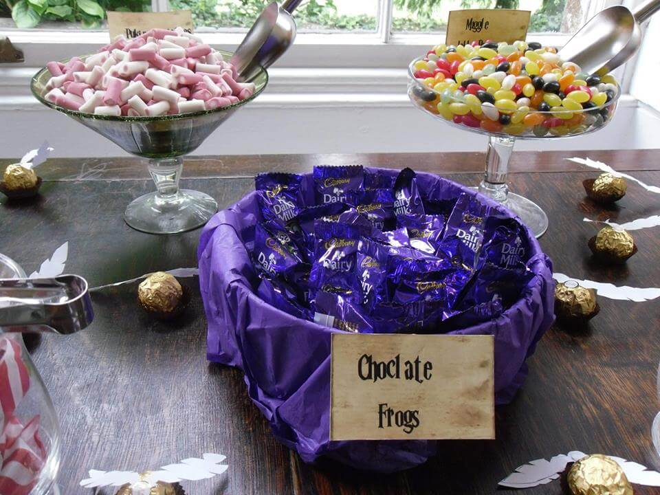 Brilliant Diy Harry Potter Sweets Candy Table Savvy In Somerset Download Free Architecture Designs Embacsunscenecom
