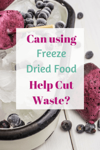 This week I've been testing some Freeze Dried Food products fromLio Licious to see whether they could be the answer to reducing food waste . . .