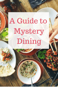 One of the best and most interesting ways to get food for free is Mystery dining