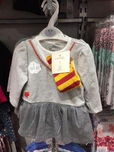 How To Tell If You Have A Harry Potter First Edition - Baby girls Harry Potter themed babygrow