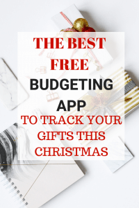The BEST Free Budgeting App For Christmas