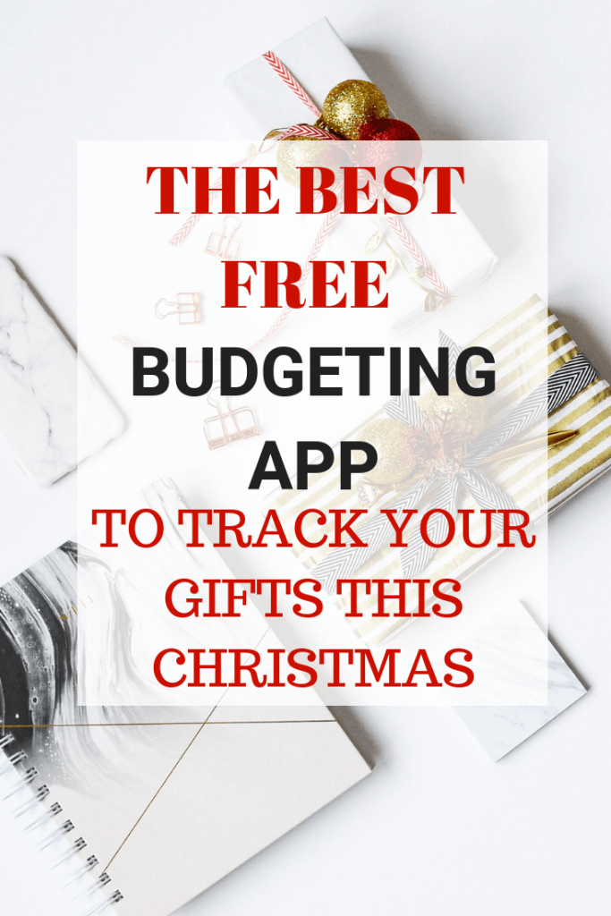 The BEST Free Budgeting App For Christmas - Savvy in Somerset