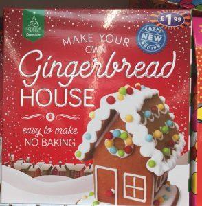 Christmas shopping at B&M - Gingerbread House